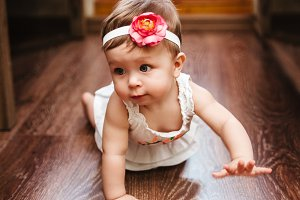 Small cute babygirl