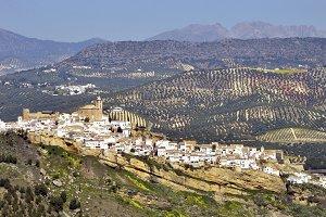 Iznajar, a white town of Cordoba