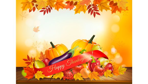 Happy Thanksgiving background