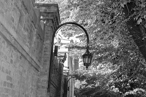 Vintage Lamppost Detail