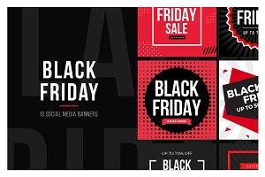 Black Friday Social Media Banner V3