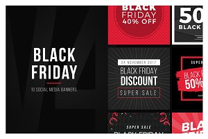Black Friday Social Media Banner V4