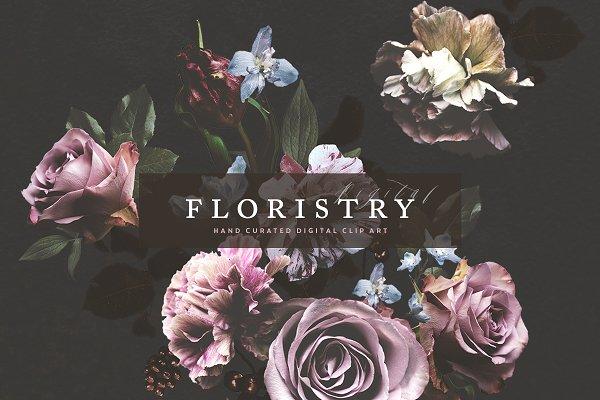 Digital Floristry - Floral Portrait…