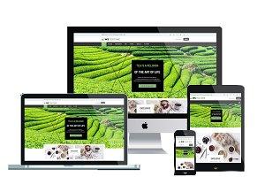 WS TEATIME - Tea Shop Wordpress