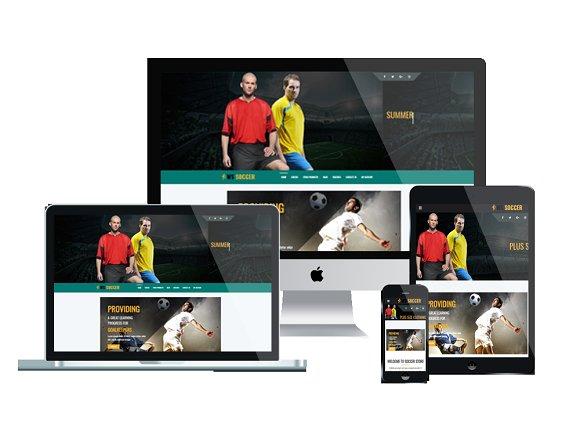 WS Soccer - Sport Shop Wordpress