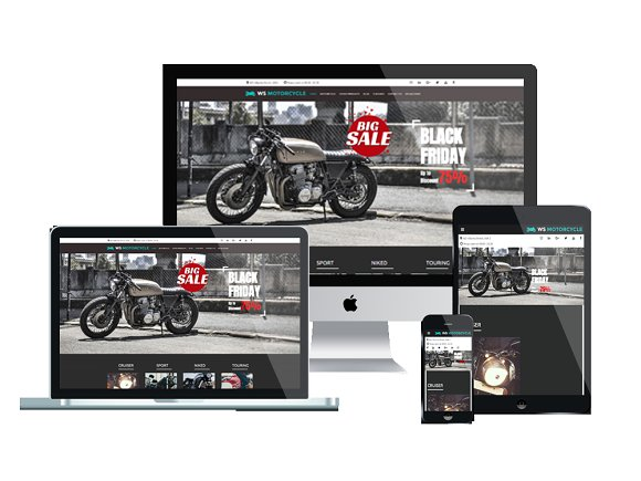 WS Motorcycle - Motorbike Wordpress