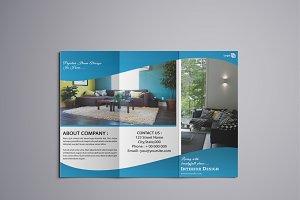 Trifold Interior Brochure - V768