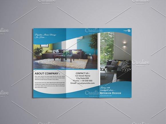 Trifold Interior Brochure V768