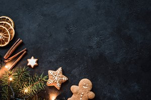 Christmas holidays background