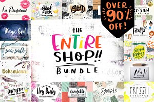 Entire Shop Bundle- $25