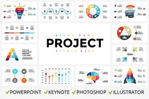 Project. Infographics. Free updates.