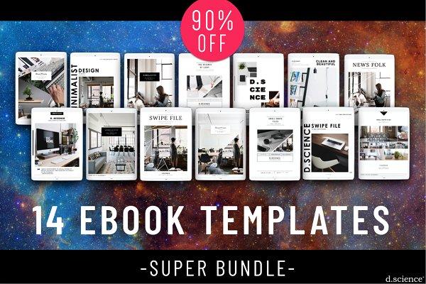 14 Ebook Super Bundle | 90% OFF!