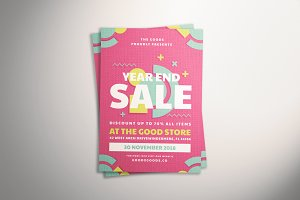 Geometric Sale Flyer