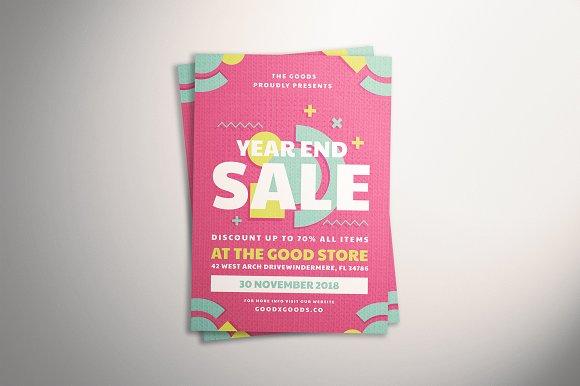 Geometric Sale Flyer