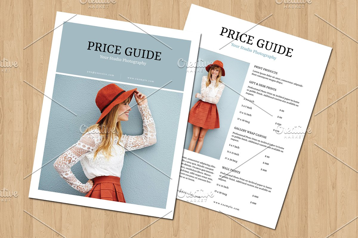 Photography Pricing Guide V697