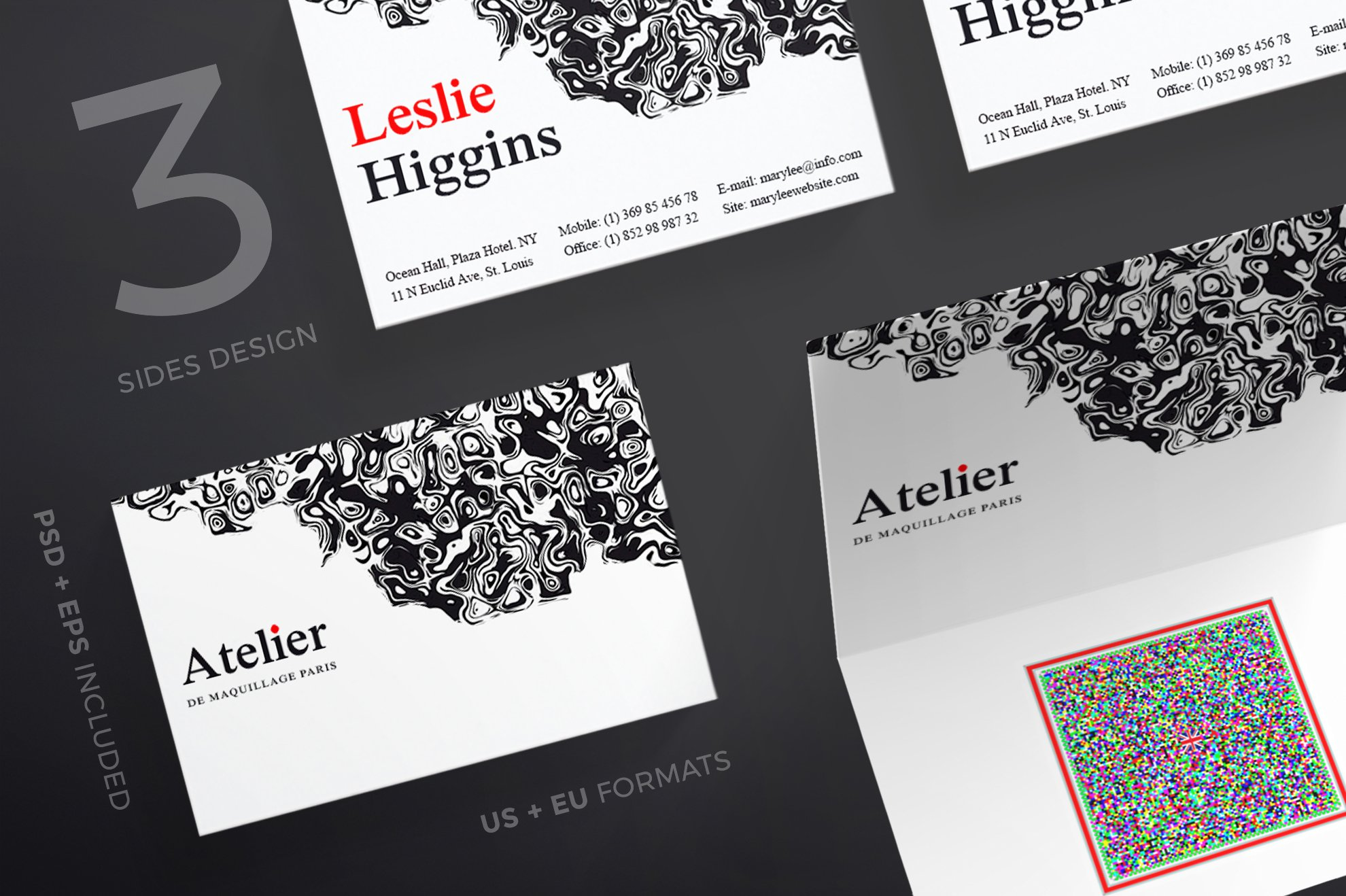 Business cards atelier business card templates creative market magicingreecefo Image collections