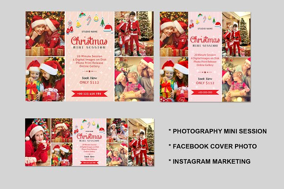 Christmas Mini Session Template-V426