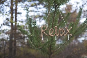 Word relax on tree