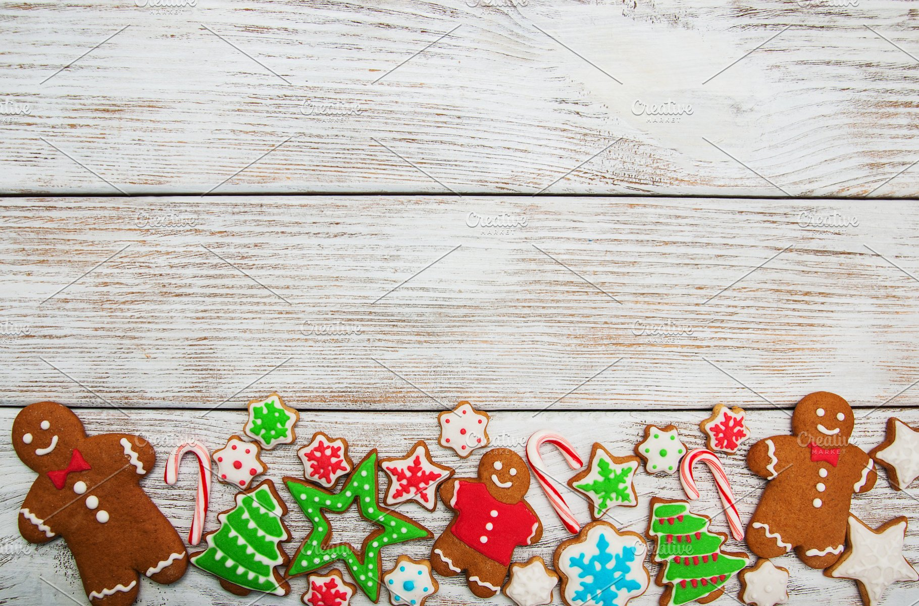 Christmas Gingerbread House Background.Christmas Background