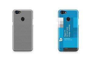 Oppo F5 3d IMD Mobile Case Mockup