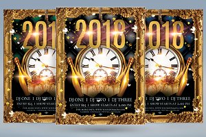 2018 New Years Flyer