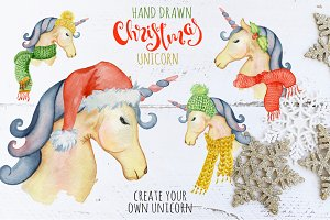 Christmas unicorn creator