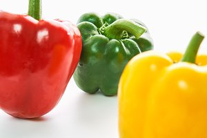 Bell pepper is group of many colors.