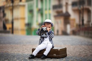 little boy photographs