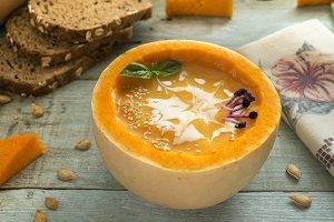 Cream pumpkin
