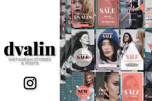 DVALIN - Instagram Stories & Posts