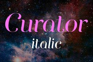 Curator Italic