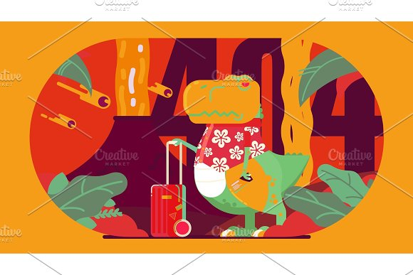 T-rex Illustration Design