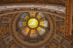 Ceiling of Berlin cathedral