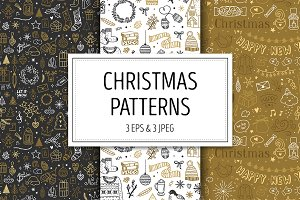3 Christmas Patterns