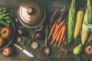 Autumn healthy ingredients