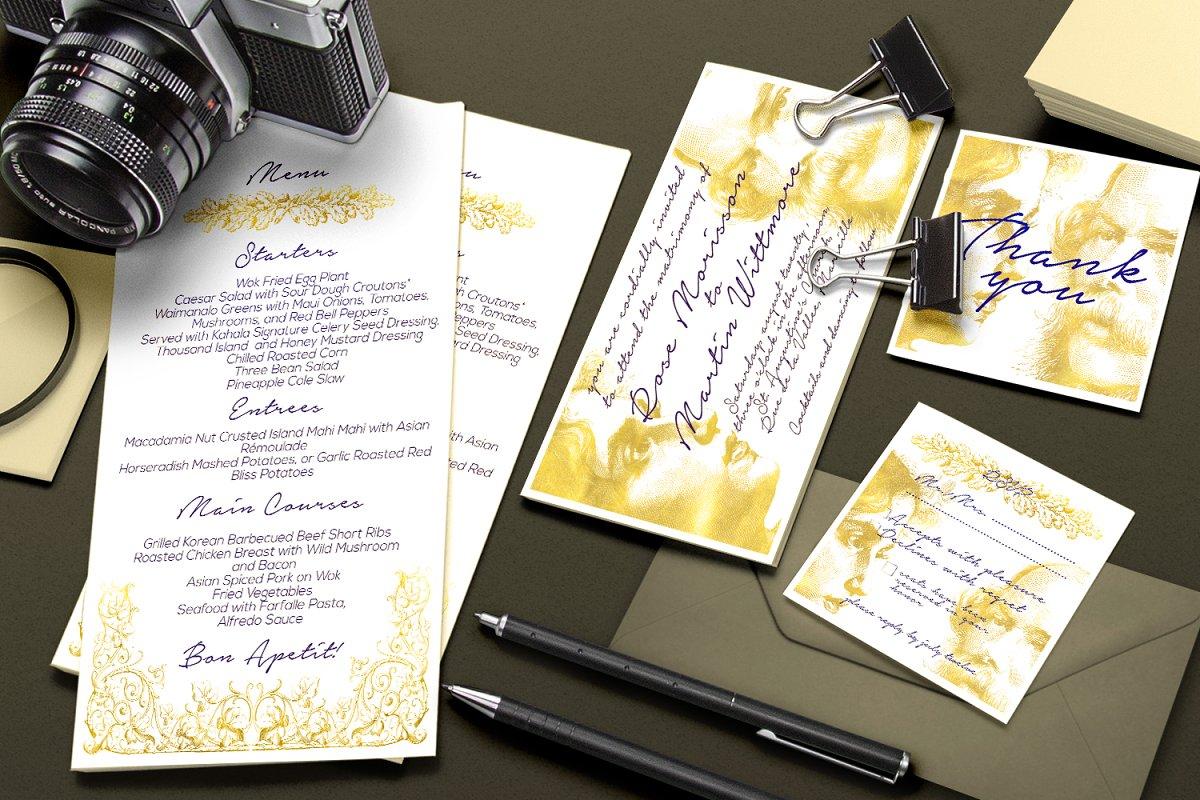 30 % OFF - Vintage Wedding Suite | Creative Wedding Templates ~ Creative  Market