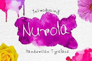 Nurola Handwritten Typeface
