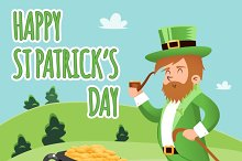 Happy St. Patrick Day Poster