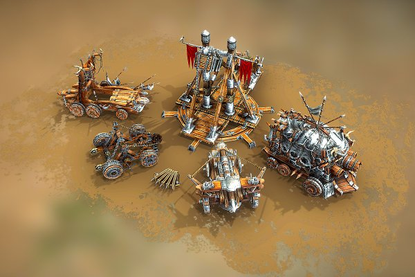 3D Models: Beatheart Creative Studio - Medieval War Machines