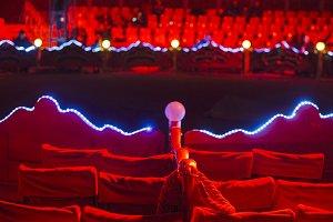 Circus arena.
