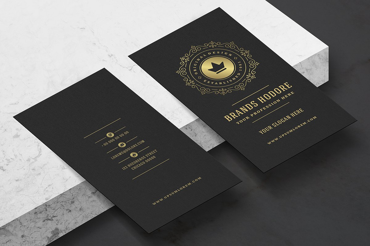 Luxury Business Card ~ Business Card Templates ~ Creative Market