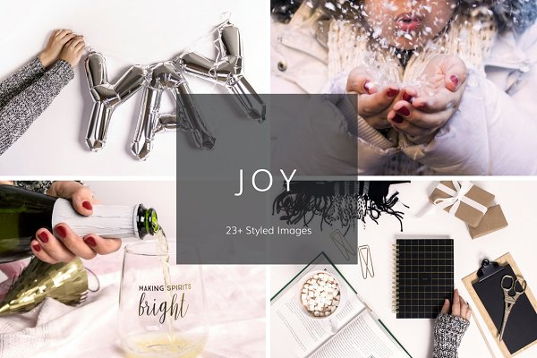 Joy Merry Bright (23 Images)
