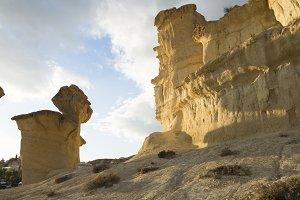 Erosion on sandstone on Spain