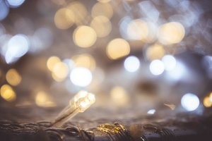 Small light LED , bokeh style party