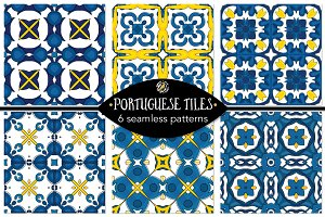 Set 106 - 6 Seamless Patterns
