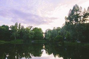 Park. Lake. Nature. Photography.