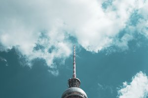 Berlin. TV Tower. Photography.