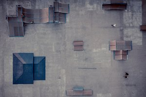 Skatepark from Above