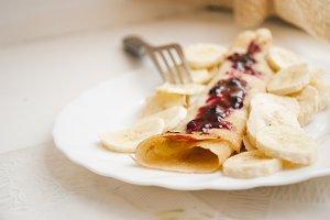 Sunday pancake morning