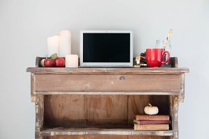 Fall Styled Desktop Series